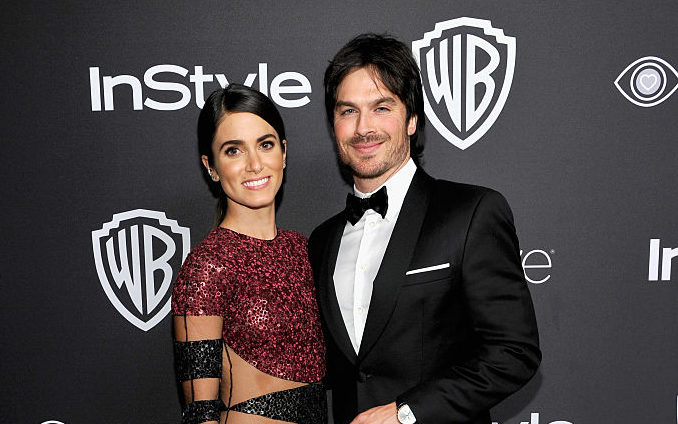 Ian Somerhalder and Nikki Reed walked their first red carpet since their daughter was born, and they looked so happy