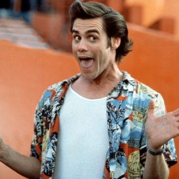 Jim Carrey gave a hilariously awkward interview at NYFW, and alrighty then