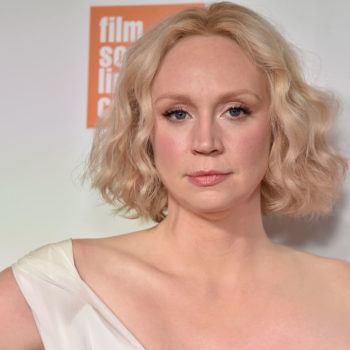 """Gwendoline Christie is 6'3"""" and will not apologize for wearing heels, thank you very much"""