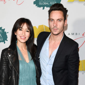 Jonathan Rhys Meyers' wife, Mara, posted a candid message about her recent miscarriage and her husband's relapse