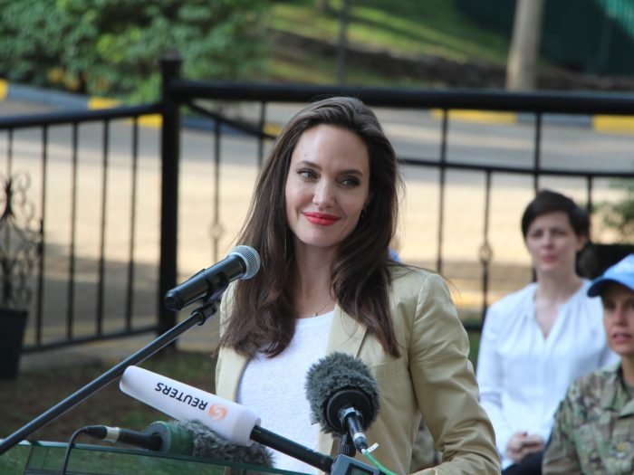 Jolie says needs role models for herself