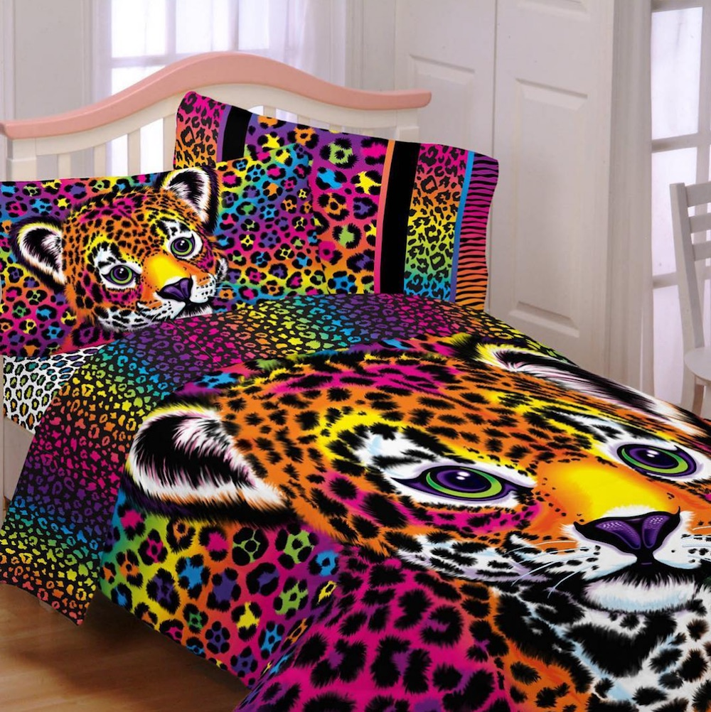 Nostalgia alert: You can now buy Lisa Frank bed sheets at Walmart