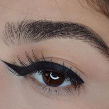 Reverse winged liner is the newest makeup trend you'll be tripping over