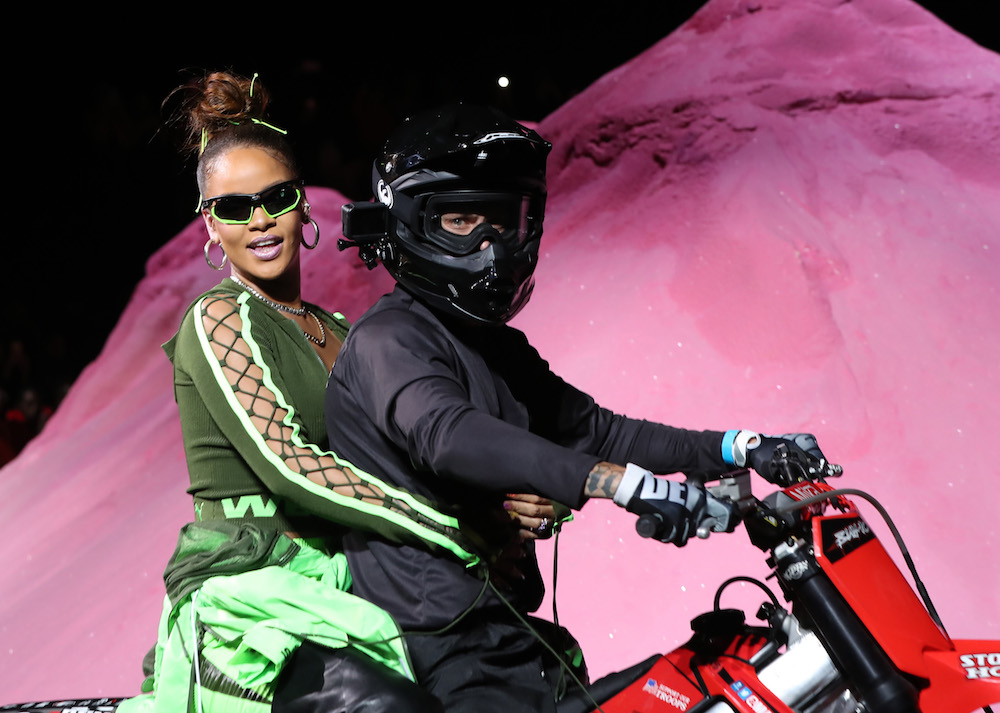 Rihanna's latest Fenty x Puma runway show is millennial-meets-'80s athleisure