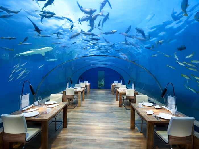 The world's first underwater restaurant is here, and OMG