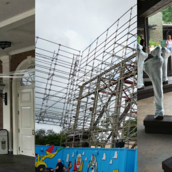 23 pictures you're not supposed to see of Disney World preparing for Hurricane Irma