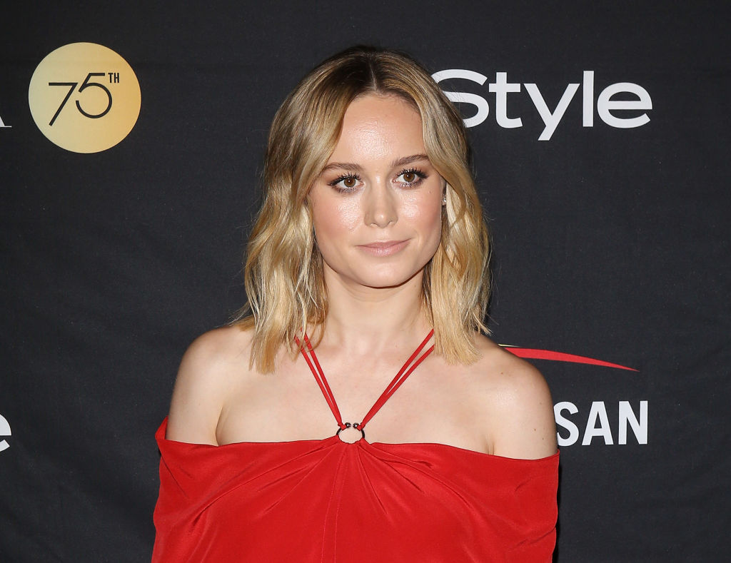 The clasp on Brie Larson's dress is making us really nervous