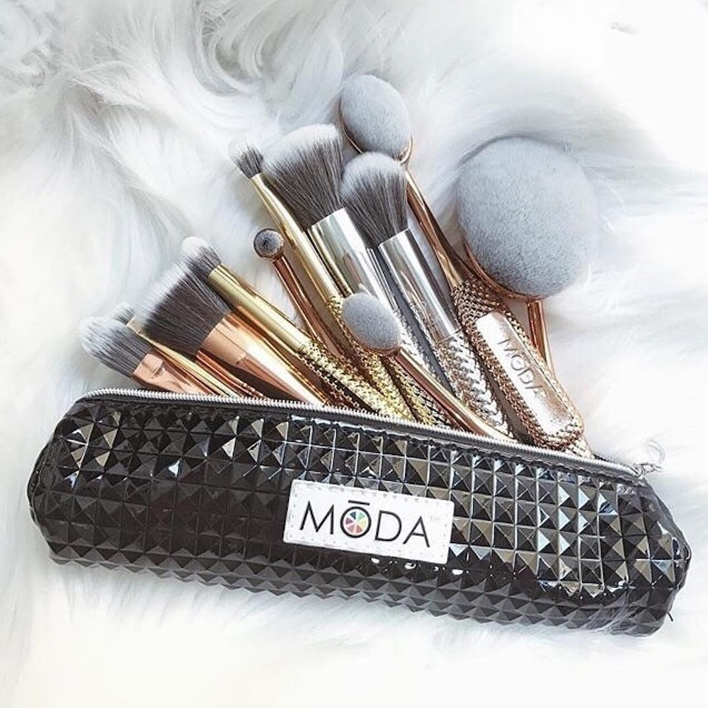 These metallic brushes look so luxe but cost less than a cheeseburger