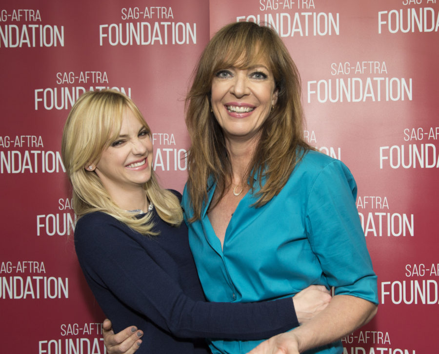 Allison Janney opened up about costar Anna Faris's split from Chris Pratt