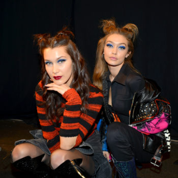 Gigi Hadid lost a shoe on the runway at NYFW, but sister Bella saved the day