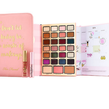 Too Faced's Boss Lady Agenda palette is a beauty planner's dream