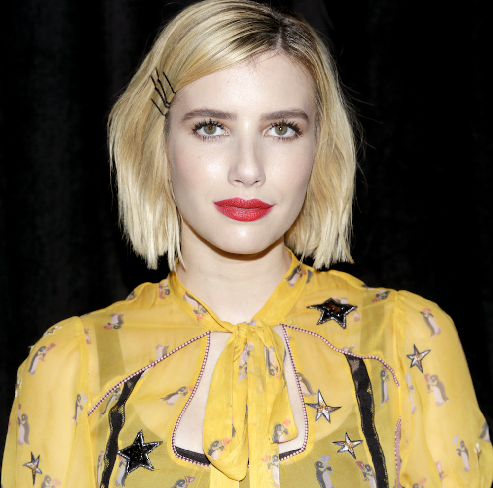 "Emma Roberts wore a penguin dress, so this is fall's new ""it"" animal"