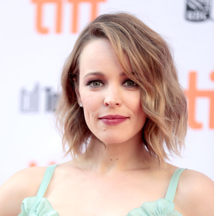 Rachel McAdams' outfit looks like lingerie a mermaid would wear if she grew legs