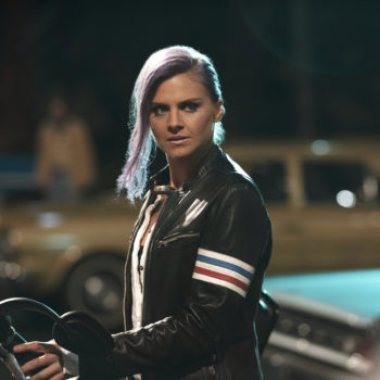 """Prepare to see Eliza Coupe like you've never seen her before, because her """"Future Man"""" role sounds very intense"""