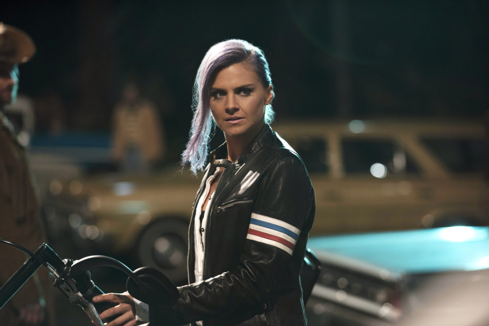 "Prepare to see Eliza Coupe like you've never seen her before, because her ""Future Man"" role sounds very intense"