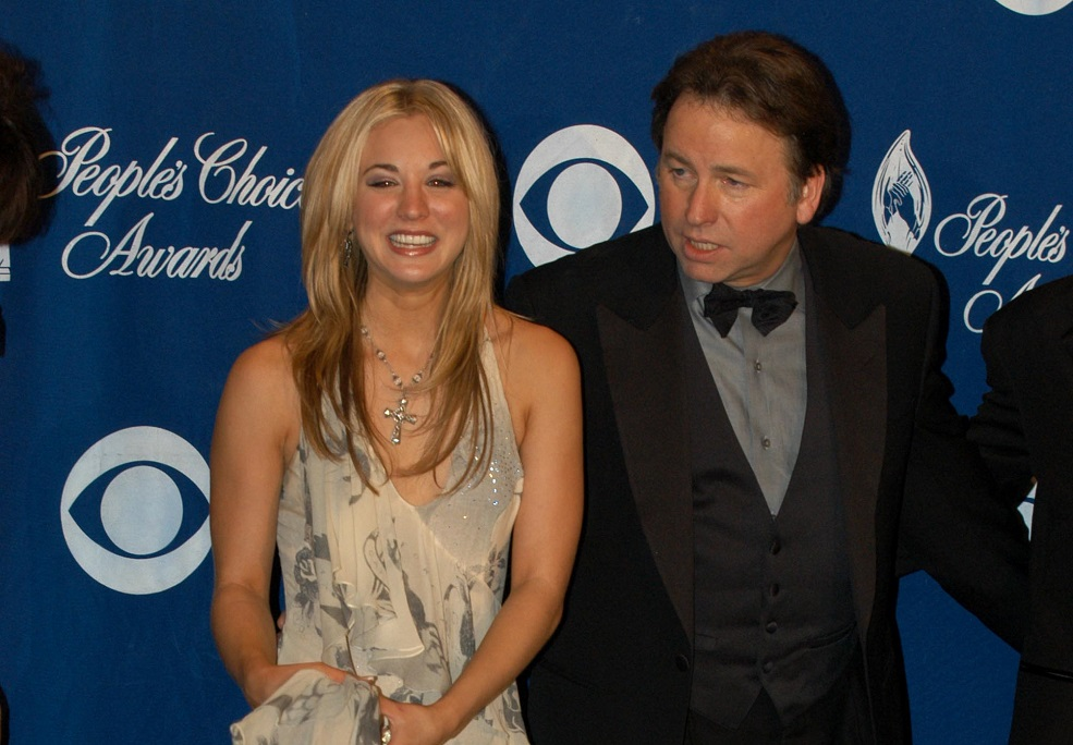 Kaley Cuoco just posted a bittersweet tribute to her late TV dad, John Ritter