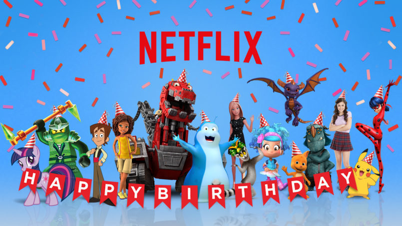 If you've ever wanted to literally invite Netflix to your birthday party, good news — it's now possible