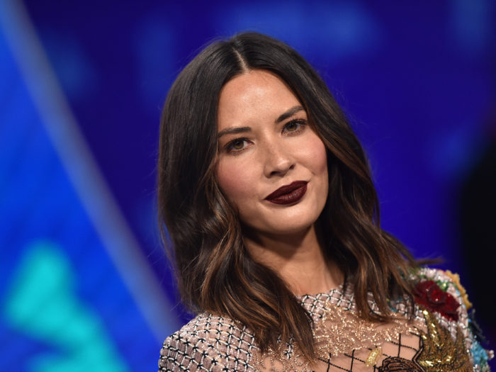 Olivia Munn trolls Vikings and Packers fans at the same time