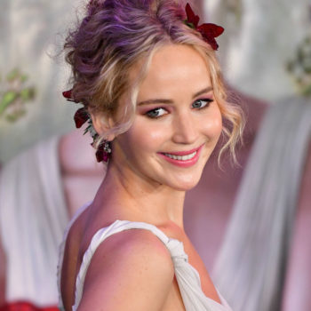 Jennifer Lawrence may have started a fall 2017 wedding trend in this gray ballgown