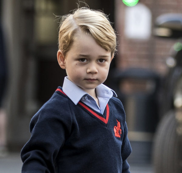 Prince George's first-day-of-school shoes are selling out, and he's the cutest trendsetter yet