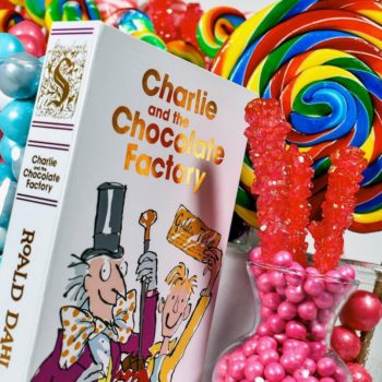 """Storybook's rainbow-colored """"Charlie and the Chocolate Factory"""" palette launches tomorrow"""