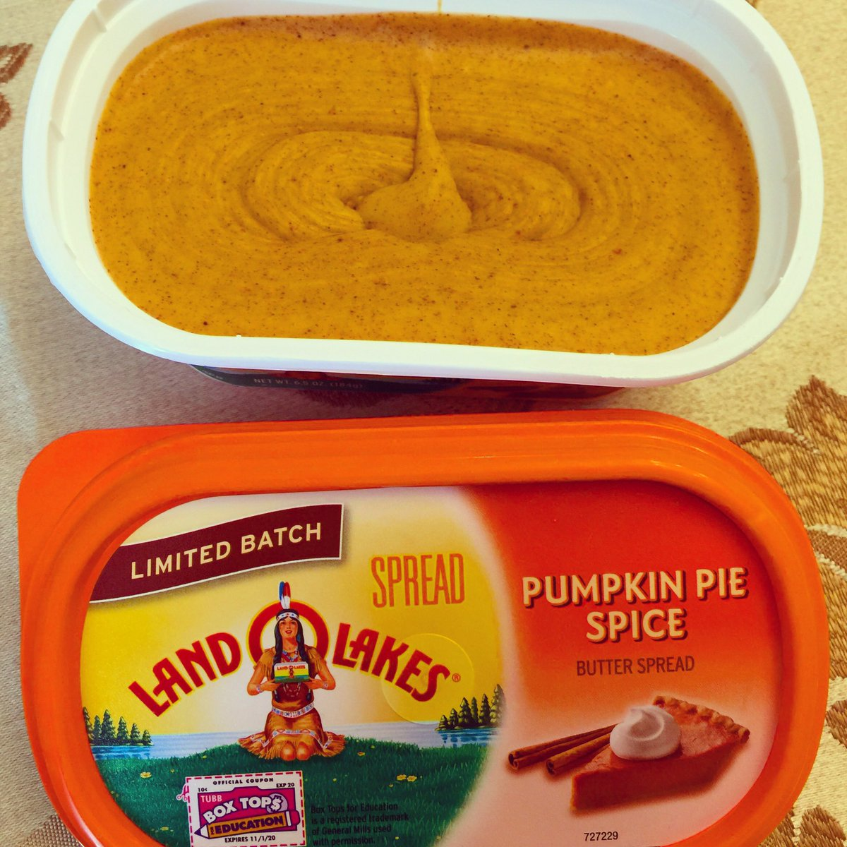You can now buy pumpkin spice butter at the grocery store