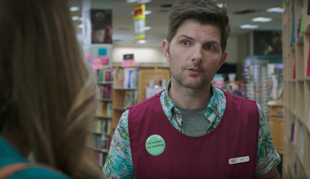 "Adam Scott plays a paranormal believer in ""Ghosted,"" but he doesn't buy any of that IRL"