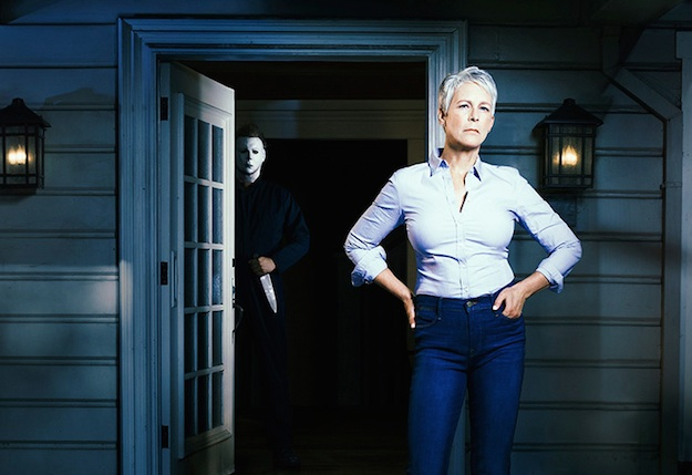 "These are screams of joy, because Jamie Lee Curtis is returning for another ""Halloween"" movie"