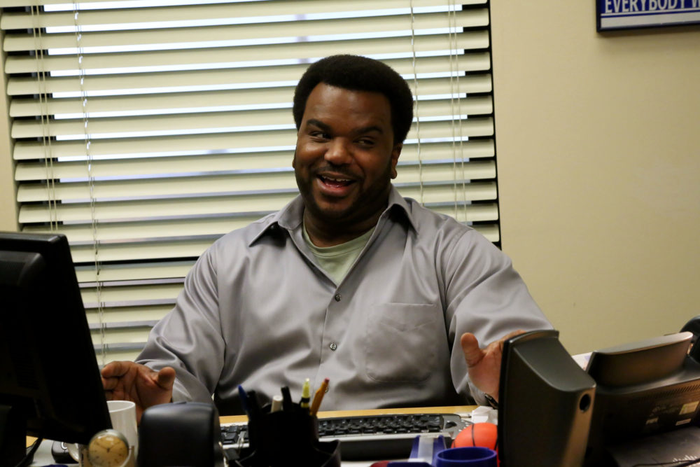"Craig Robinson is game for an ""Office"" reboot, and it's what the warehouse team would want"