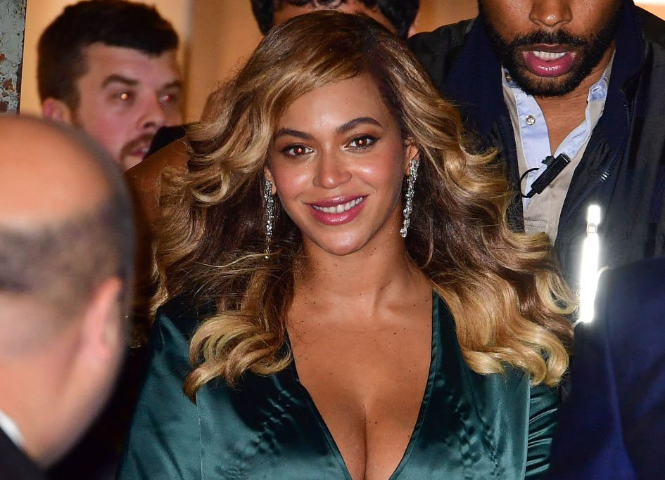 You can buy Beyoncé's plunging, high-slit dress for $165