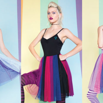"Hot Topic just released the ""My Little Pony"" dress collection of our tulle dreams"