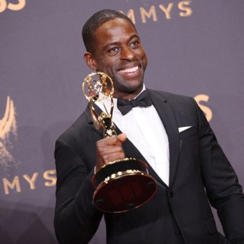Sterling K. Brown was played off the stage during his Emmy acceptance speech, but this is what he would have said