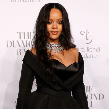 Rihanna's plunging pink jumpsuit is inspiring us to try the monochrome trend