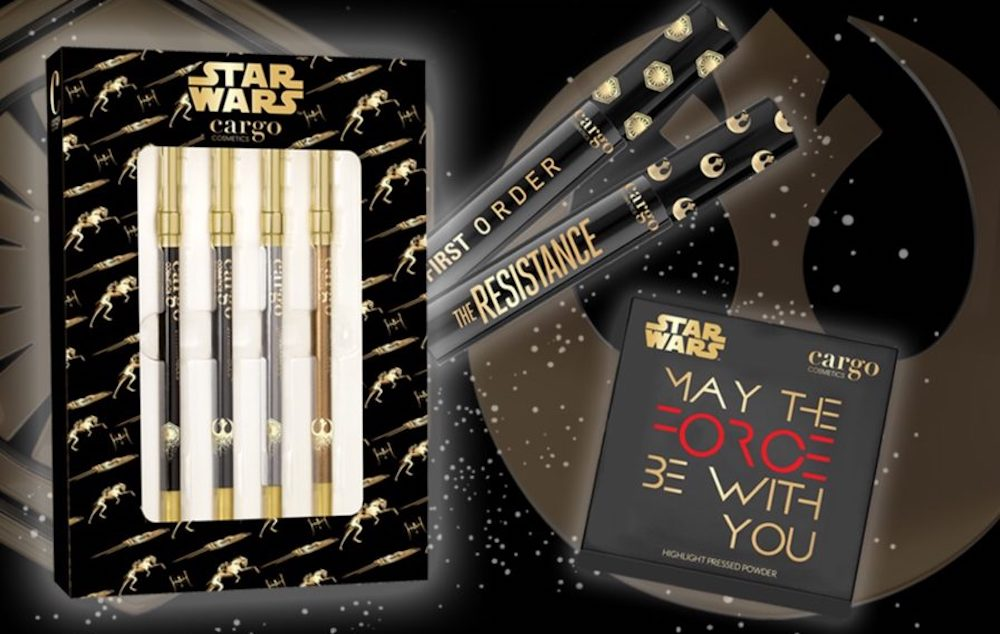 "Cargo Cosmetics is releasing a ""Star Wars"" makeup collection, and may the force be with our wallet"