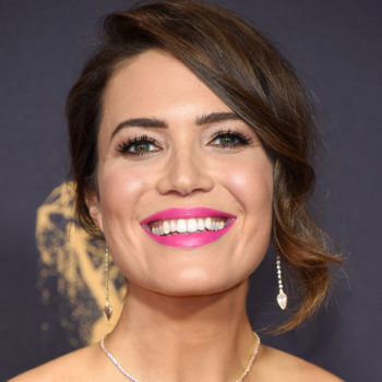 Mandy Moore looks like a Cupcake Doll from the '90s in her 2017 Emmys gown