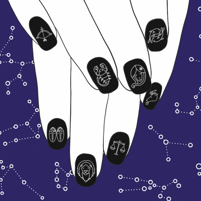 This is what type of nail art you should do according to your zodiac sign
