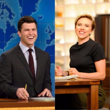 """""""Weekend Update"""" star Colin Jost finally admitted that he and Scarlett Johansson are dating"""
