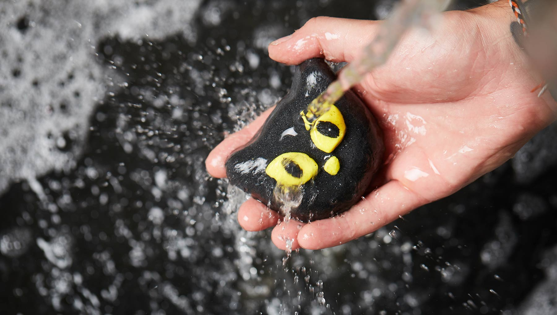 Attention, cat lovers: Lush's black cat-shaped Bewitched Bubble Bar is selling out fast