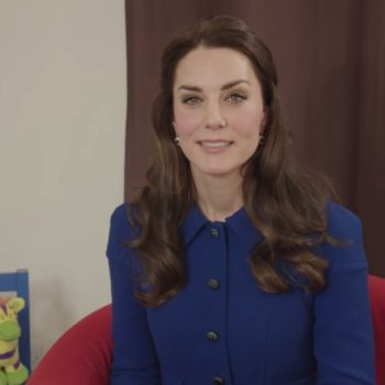Kate Middleton shared an animated short to help kids open up about mental health