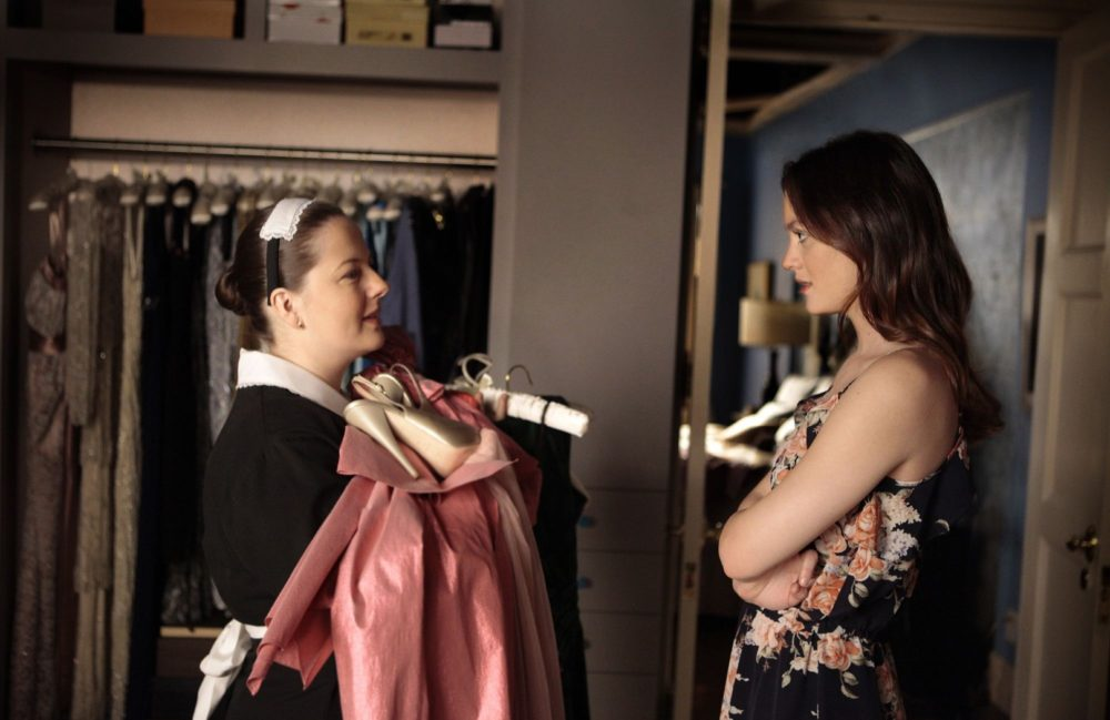 "According to Dorota, we have social media to thank for her strong relationship with Blair on ""Gossip Girl"""