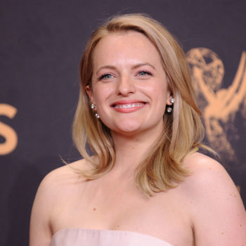 Elisabeth Moss's Emmys outfit had a secret message hidden on it