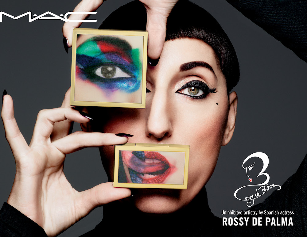 MAC is teaming up with Spanish actress Rossy de Palma on an electrifying makeup line
