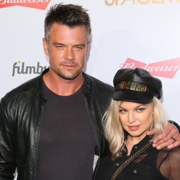 "Fergie admitted it was ""getting a little weird"" pretending that she and Josh Duhamel were still together"