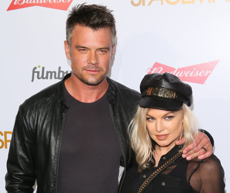 """Fergie admitted it was """"getting a little weird"""" pretending that she and Josh Duhamel were still together"""