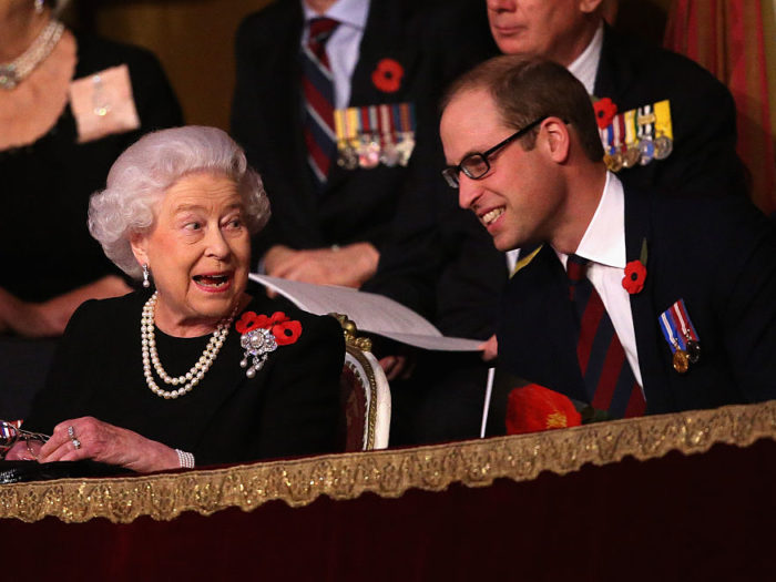Queen Elizabeth II Has Personally Overseen Prince William's King Training