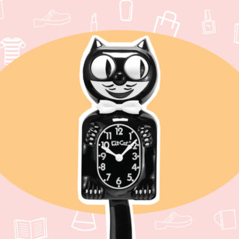 WANT/NEED: A kitty clock to give your kitchen a vintage vibe, and more stuff you want to buy