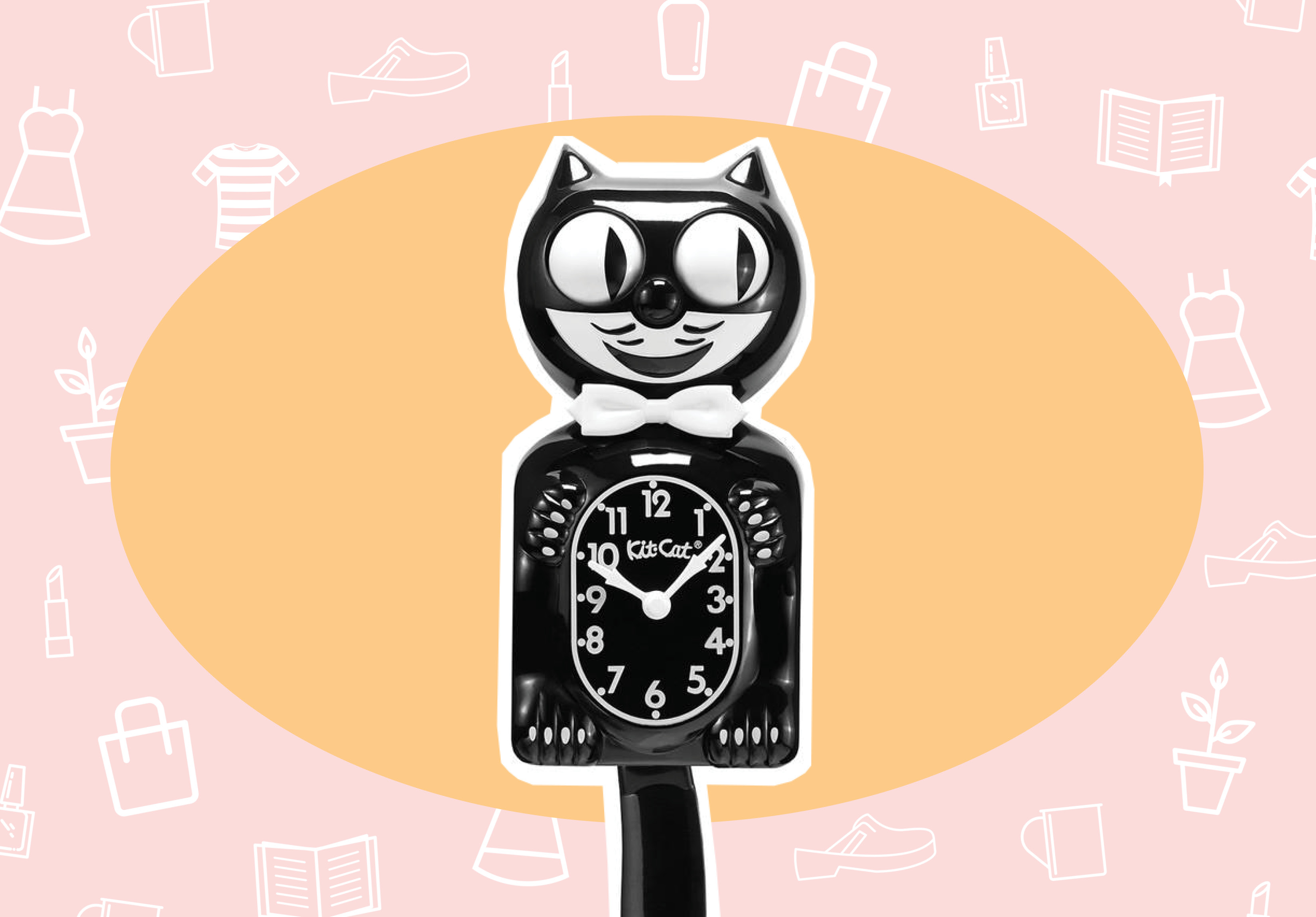 WANT/NEED: A kitty clock to give your kitchen a vintage vibe, and more stuff you want to vibe