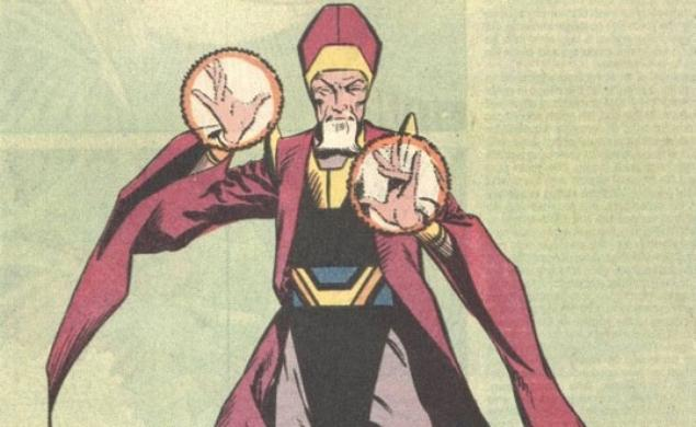 The Ancient One in a Doctor Strange comic