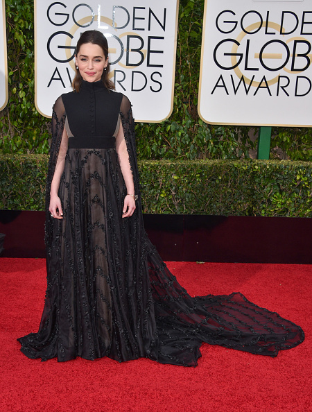 7 Cape Dresses That Ruled The Golden Globes Last Night