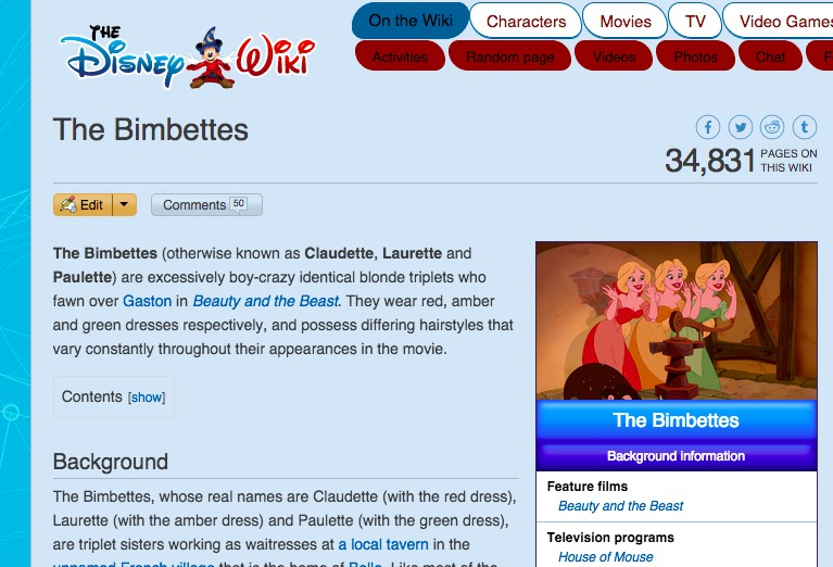 There's a big unanswered question about Gaston's groupies - HelloGiggles